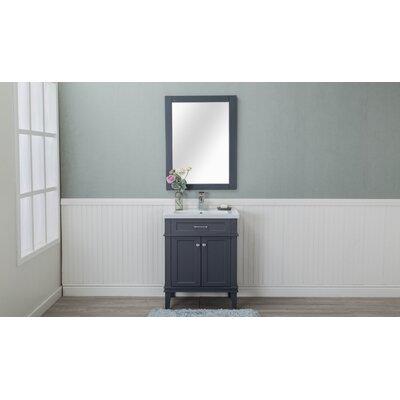 Chronister 30 Single Bathroom Vanity Set Base Finish: Gray