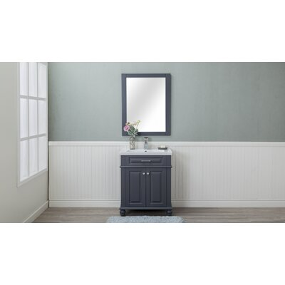 Chumbley 30 Single Bathroom Vanity Set Base Finish: Gray