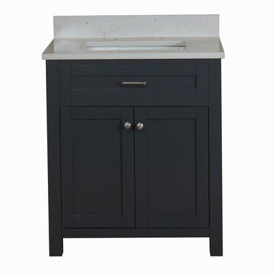 Ryenne 30 Single Bathroom Vanity Set Base Finish: Gray