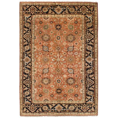 One-of-a-Kind Briggs Hand-Knotted Wool Copper Indoor Area Rug