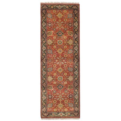One-of-a-Kind Briggs Hand-Knotted Wool Dark Copper Indoor Area Rug
