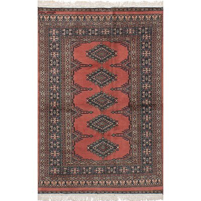 One-of-a-Kind Onondaga Hand-Knotted Wool Copper Indoor Area Rug