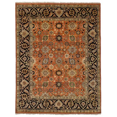 One-of-a-Kind Briggs Hand-Knotted Copper/Brown Area Rug