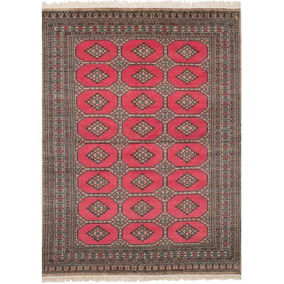 One-of-a-Kind Onondaga Hand-Knotted Wool Light Red Indoor Area Rug