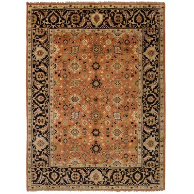 One-of-a-Kind Briggs Hand-Knotted Wool Copper Area Rug
