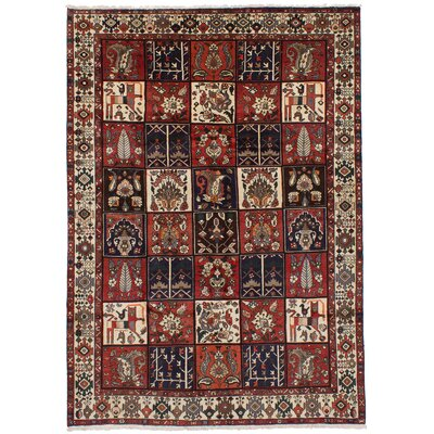 One-of-a-Kind Hibner Hand-Knotted Wool Red Area Rug