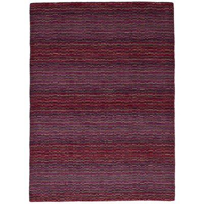 One-of-a-Kind Marple Hand-Knotted Wool Red/Violet Area Rug