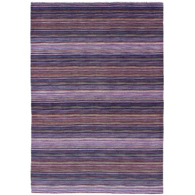One-of-a-Kind Marple Hand-Knotted Wool Indigo/Violet Area Rug