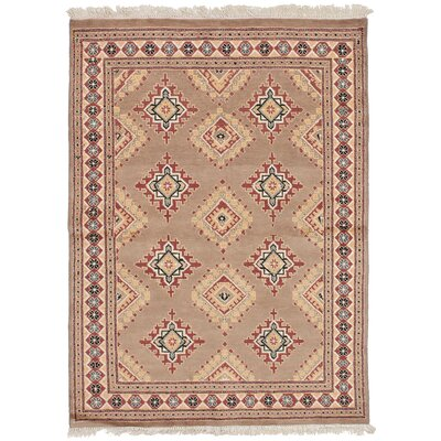 One-of-a-Kind Onondaga Hand-Knotted Wool Tan Area Rug