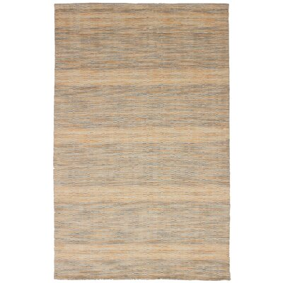 One-of-a-Kind Marple Hand-Knotted Wool Cream/Gray Area Rug