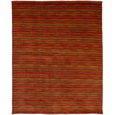 One-of-a-Kind Marple Hand-Knotted Wool Red Area Rug