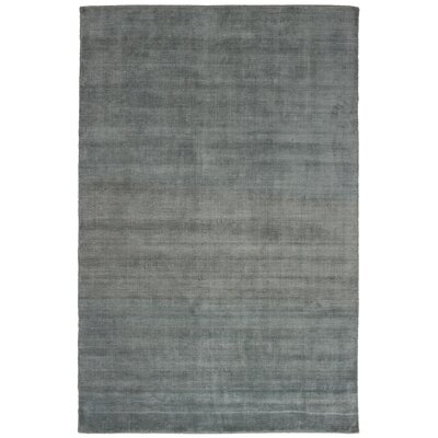 One-of-a-Kind Don Hand-Knotted Wool Dark Gray Area Rug