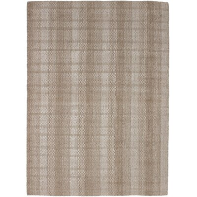 One-of-a-Kind Marple Hand-Knotted Wool Tan Area Rug
