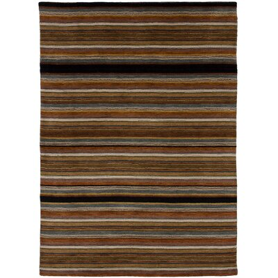 One-of-a-Kind Marple Hand-Knotted Wool Brown Area Rug