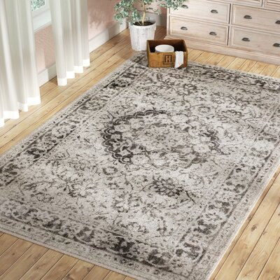 Gainesville Sterling Gray Area Rug Rug Size: Rectangle 710 x 910