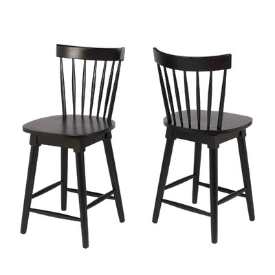 Manzi 25 Swivel Bar Stool Frame Color: Black