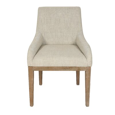 Catalina Upholstered Arm Chair Upholstery Color: Sand