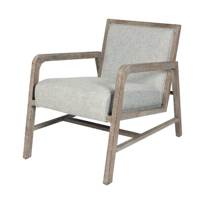 Coronado Armchair Upholstery: Pepper, Finish: Natural