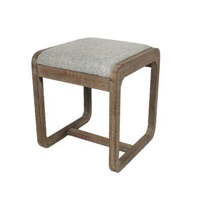 Coronado Ottoman Upholstery: Pepper, Finish: Natural