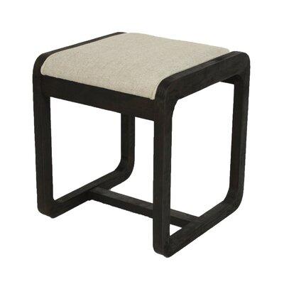 Coronado Ottoman Upholstery: Sand, Finish: Ebony
