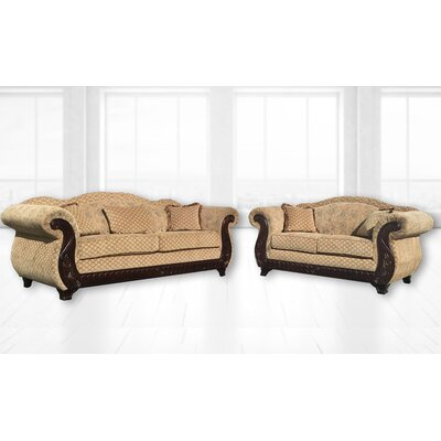 Sedona 7 Piece Living Room Set Upholstery: Beige