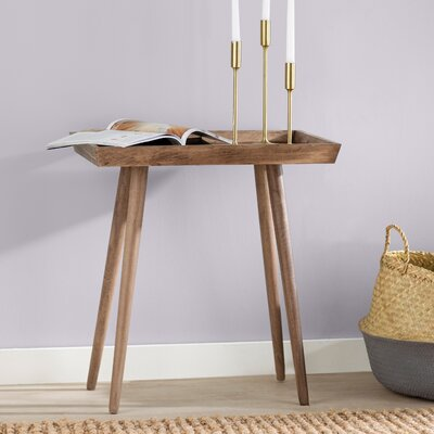 Beem Tray End Table Color: Dessert Brown