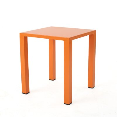 Chilson End Table Color: Orange