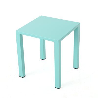 Chilson End Table Color: Teal