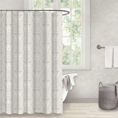 Danforth Sand 100% Cotton Shower Curtain