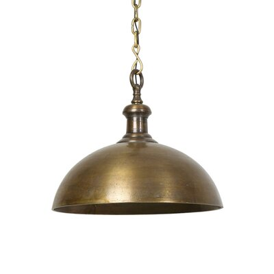 Crew Park 1-Light Inverted Pendant Color: Antique Bronze