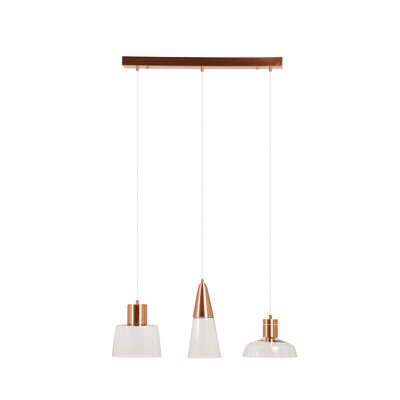 Hymes 3-Light Cluster Pendant