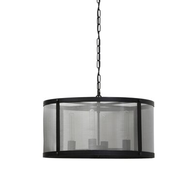 Manzella 4-Light Drum Pendant