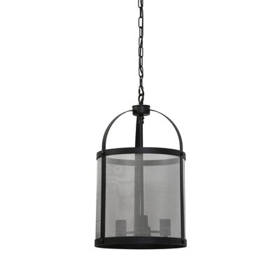 Manzella Tall 3-Light Drum Pendant