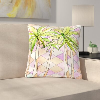 Rosie Brown Geometric Tropic Outdoor Throw Pillow Size: 18 H x 18 W x 5 D