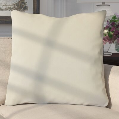 Aveneil Solid Floor Pillow Color: Pearl