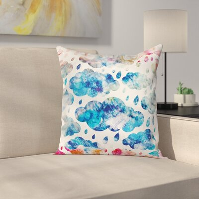 Modern Rainy Pillow Cover Size: 18 x 18