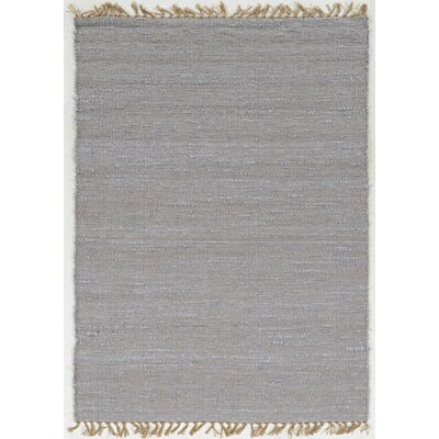 Christenson Hand-Woven Lilac Area Rug Rug Size: Rectangle 53 x 76
