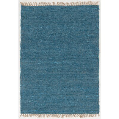 Christenson Hand-Woven Sage Area Rug Rug Size: Rectangle 35 x 65