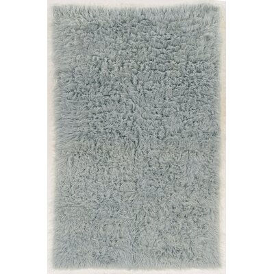 Ducharme Hand-Woven Wool Light Gray Area Rug Rug Size: Rectangle 36 x 566