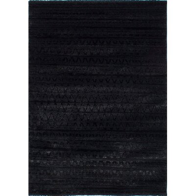 Gentner Black Area Rug