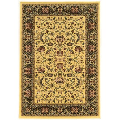 Lozoya Cream Area Rug Rug Size: Rectangle 9 x 12