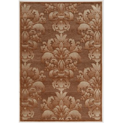 Bradley Junction Medallions Brown Area Rug Rug Size: Rectangle 5 x 76