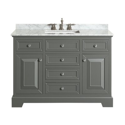 Catalan 48 Single Bathroom Vanity Set Base Finish: Gray