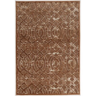 Kleinschmidt Trellis Brown Area Rug Rug Size: Rectangle 8 x 103