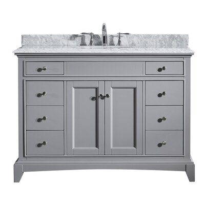 Strickland 42 Single Bathroom Vanity Set