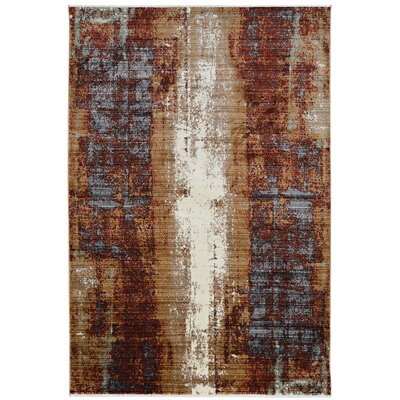 Crittenden Beige Area Rug Rug Size: Rectangle 8 x 11