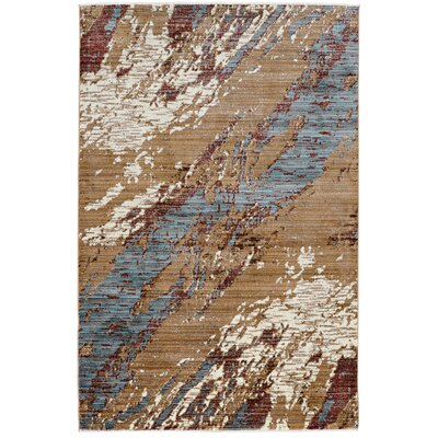 Crittenden Marble Beige Area Rug Rug Size: Rectangle 3 x 5