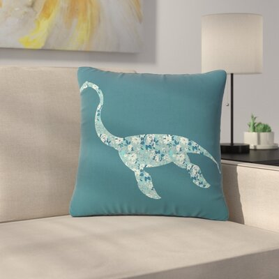 Alias Nessie Outdoor Throw Pillow Size: 18 H x 18 W x 5 D