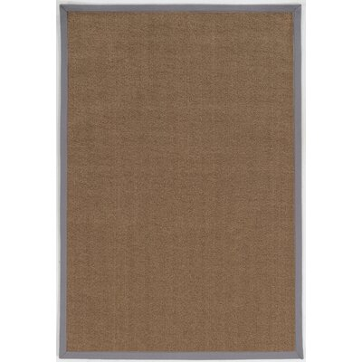 Christiano Brown Area Rug Rug Size: Square 6