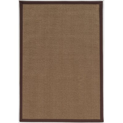 Christiano Brown Area Rug Rug Size: Round 6